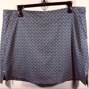 Blue Diamond Golf Skort By Lady Hagen